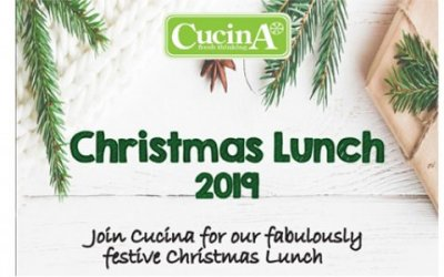 Cucina Christmas Lunch Menu