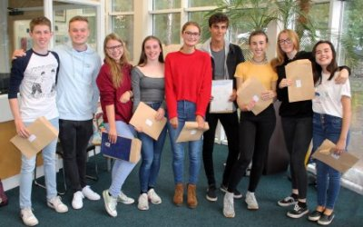 A Level Results 2017/2018