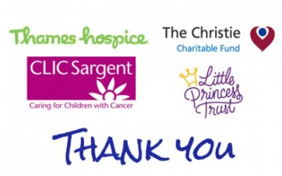 February Charity Fundraising events - Thank You for your support