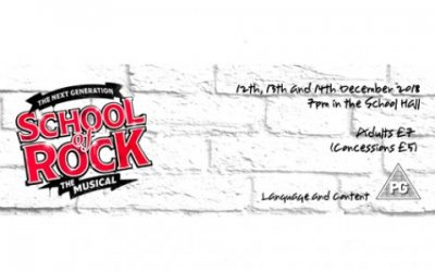 School of Rock Production - tickets for Friday sold out - some availability still for Wed and Thurs